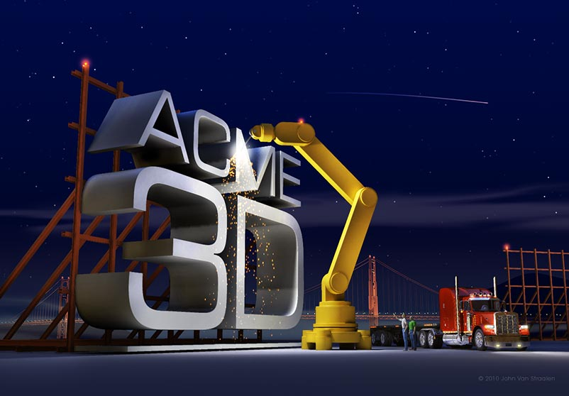 ACME-3D Building great things day and night.